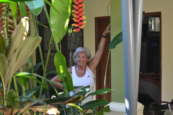 LadyBamboo Villa: kleine Terrasse