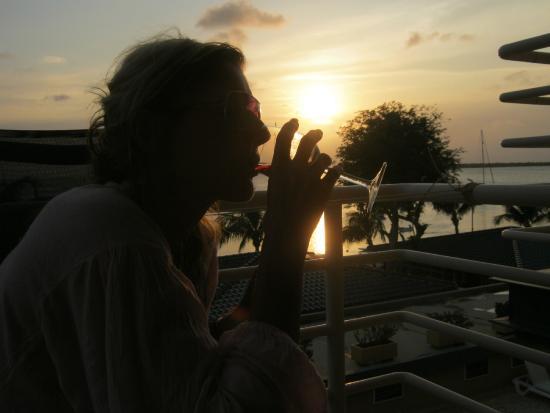 Bonaire Seaside Apartments: op je balkon heerlijk uitzicht