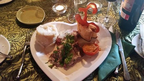 Safran : Solomillo con salsa de cabrales