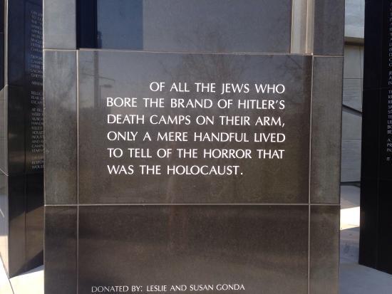 Los Angeles Museum of the Holocaust: A la salida del museo