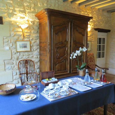 Chambres d'hotes Saint Emilion Bordeaux: Beau Sejour: Tea Time