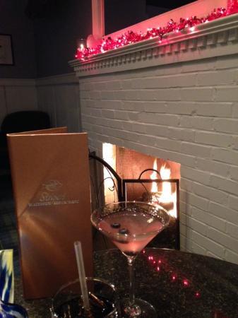 Stripers Waterside Restaurant : Cosmo Fireside