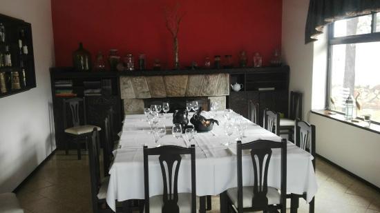 Ambrogio Restaurante : Mobiliario del lugar
