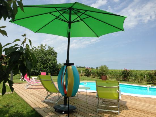 Domaine de Blaignac: piscine 2