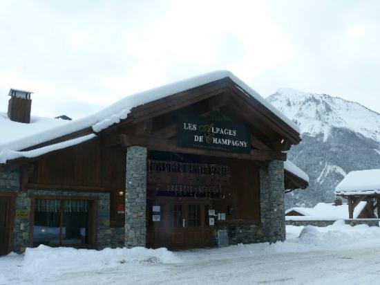 CGH Résidences & Spas Les Alpages de Champagny : Extérieur établissement