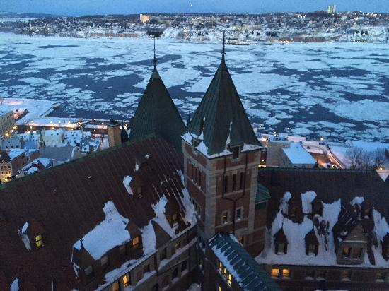 Fairmont Le Chateau Frontenac: View from the 12th floor