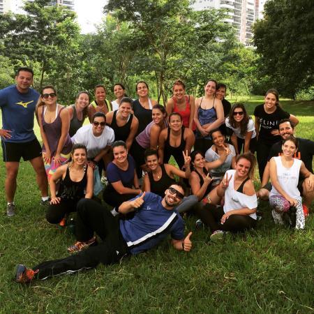 Vaca Brava Park : Treinamento Funcional no Parque @desafiooutdoornoparque faça uma aula ... Super top ��