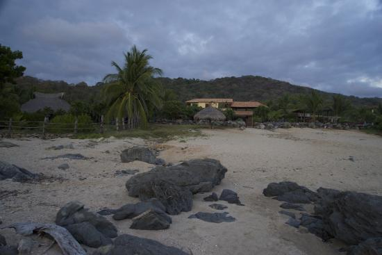 Casa Las Piedras: The Casa from the Beach