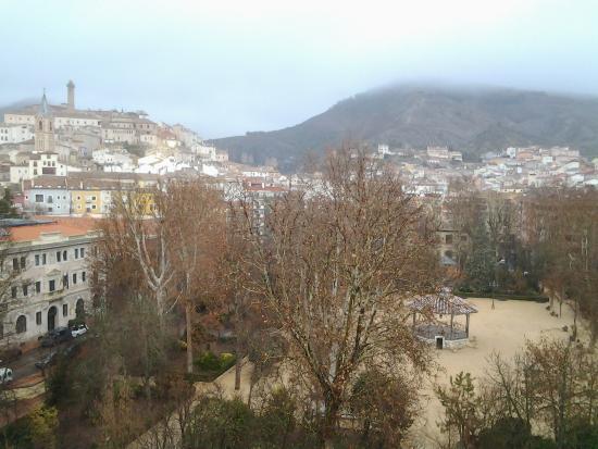 Hotel Alfonso VIII de Cuenca: vistas desde habitacion 604