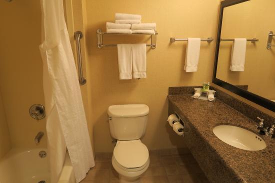 Holiday Inn Express San Francisco Airport-North: Bathroom
