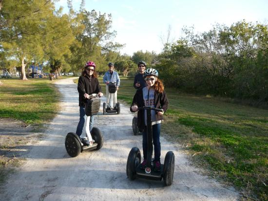Remi's Segway Tours: From age 12 to 72, we had a great experience.