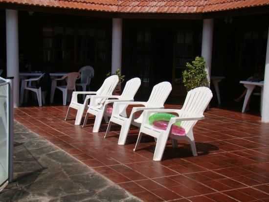 Hosteria Las Mutisias : Precioso solarium !
