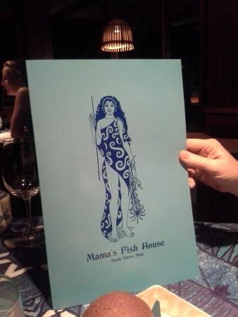 Cover menu picture of mama 39 s fish house paia tripadvisor for Mamas fish house lunch menu