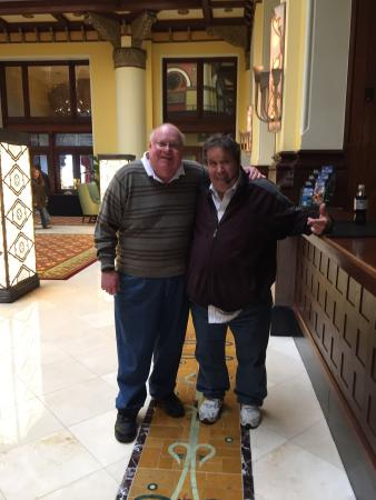 Tommy's Tours : Tommy and I down town Nashville