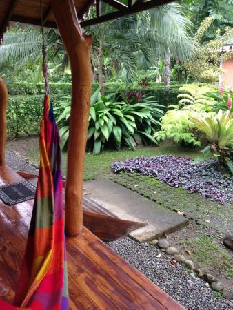 Ciudad Perdida Eco Lodge : Front Porch of Standard Room at Cuidad Perdida Eco Lodge