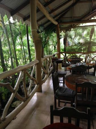Ciudad Perdida Eco Lodge: Breakfast Dining Room at Cuidad Perdida EcoLodge