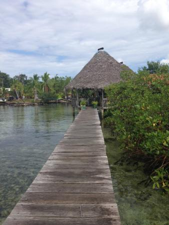 Ciudad Perdida Eco Lodge: Restaurant at Boca del Toro Tour with Cahuita Tours