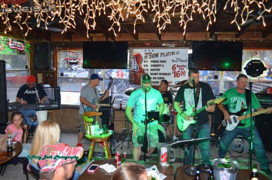 Band Playing 2/15/2015 - Picture of Beer Shed, Riverview ...