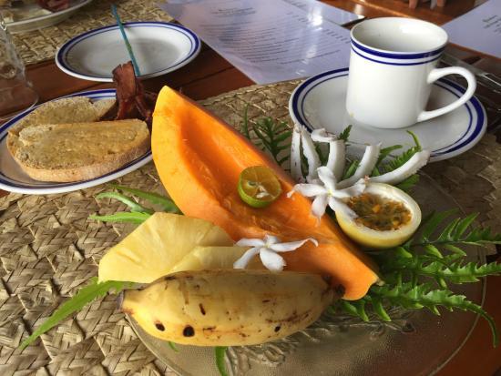 Nakia Resort & Dive: Delicious breakfast