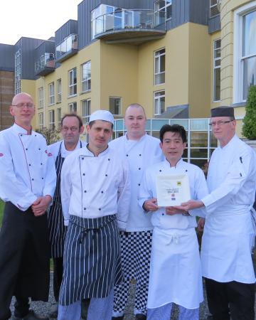 Hotel Minella: Team Minella with AA Rosette
