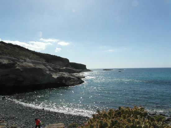 Parque Nacional La Caleta: Tussen La Caleta National Park en Playa Pariso