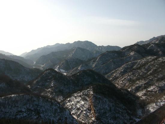 The Great Wall at Badaling: 长城