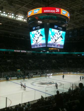 SAP Center: Sharks Game