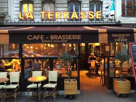 Cafe De La Terrasse Paris Restaurant Reviews Phone
