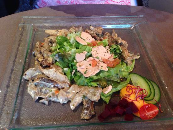 Salade de pleurotes foto de l 39 endroit valenciennes for Ver mangeur de salade