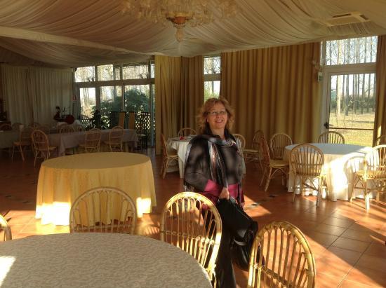 Relais Leon D'Oro: sala ristorante