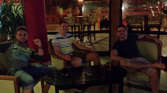 Parrotel Aqua Park: in the bar