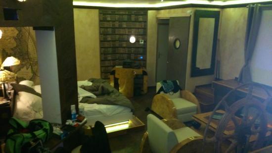 Bubble Lounge Hotel: Vue de haut de la chambre