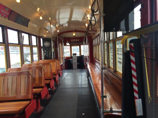 inside s street car new orleans picture of rta streetcars new orleans tripadvisor. Black Bedroom Furniture Sets. Home Design Ideas
