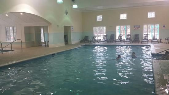 Indoor Pool Picture Of Greensprings Vacation Resort Williamsburg