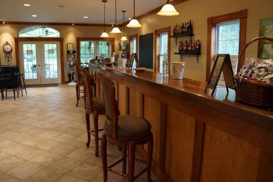 Wyalusing, PA: Tasting Room