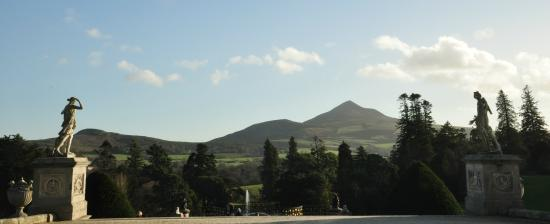 Terrace Cafe at Powerscourt: Worthwhile view from terrace