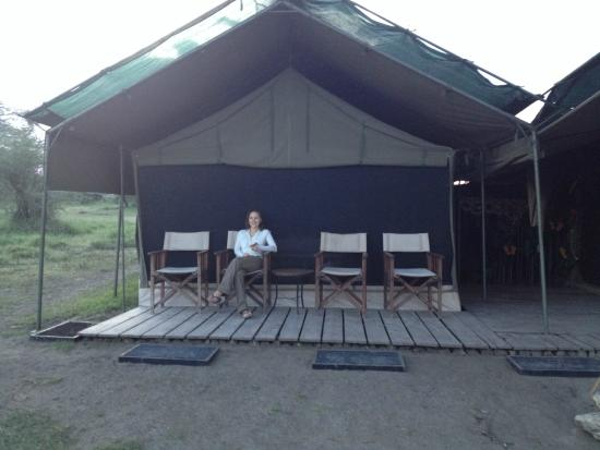 Ang'ata Migration Ndutu Camp: Room with a view!!