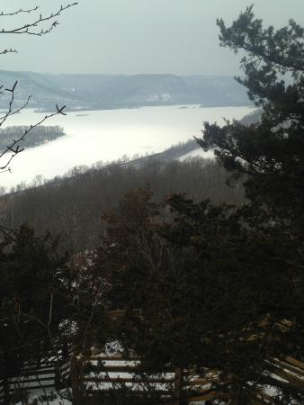 Perrot State Park: View from top of Brady's Bluff