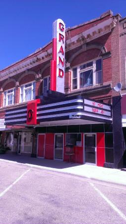 Grand Theatre in Oakes, ND