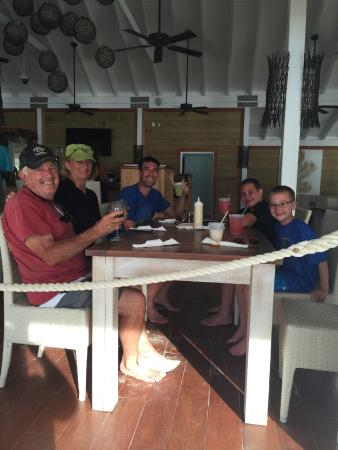 Shooting Star Charters: Lunch at Pirate's Bight