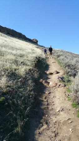 Jump Creek: Steep incline worth the climb.