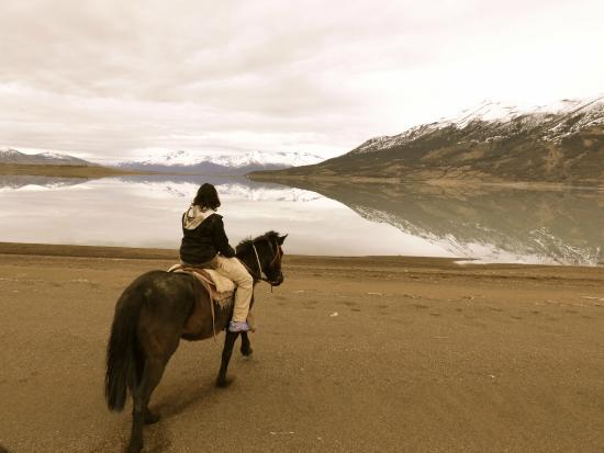 Estancia Rio Mitre: lago Argentino