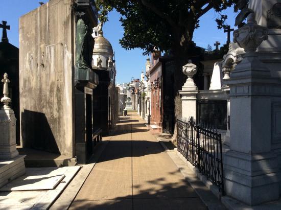 Marcelo Alejandro Mansilla : Cementerio de la Recoleta