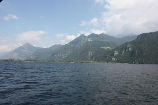 Residence Park Alpini: View from the Ferry boat