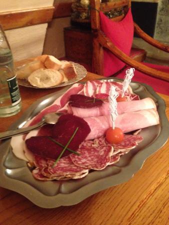 La Vieille Auberge Hotel: Raclette
