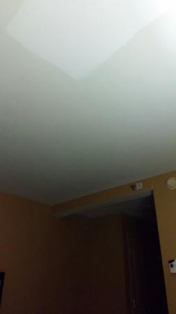Crowne Plaza Hotel Cleveland South - Independence: crown ceiling paint patch hard to see in photo