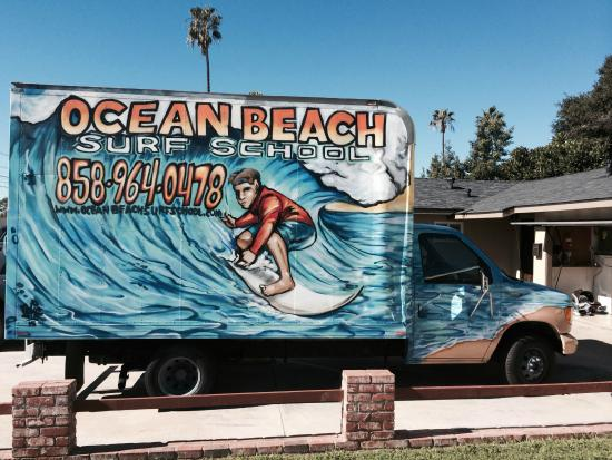 ‪Ocean Beach Surf School‬