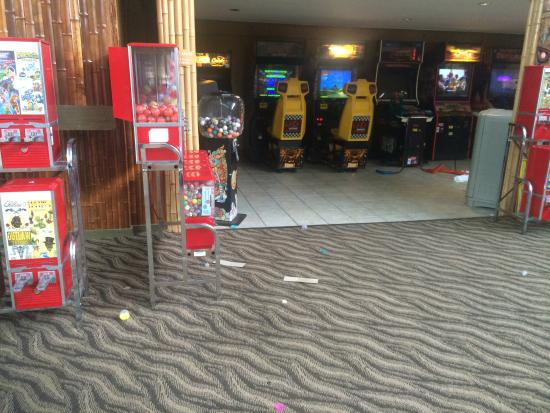 Holiday Inn Rolling Meadows - Schaumburg Area: Sample of how dirty the common areas are