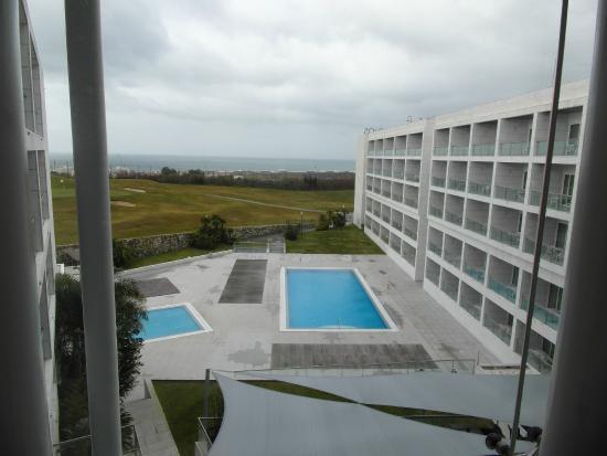 Aldeia dos Capuchos Golf & Spa: Vista da recepção