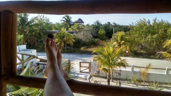 Ca'Rita Hotel & Suites Mexico: Vue du balcon du Ca'rita
